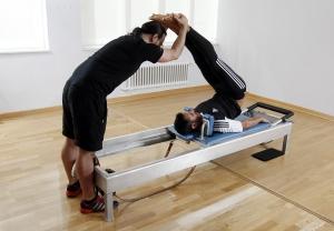 Practicar el método pilates