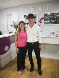 Jean Pierre Barral en Madrid