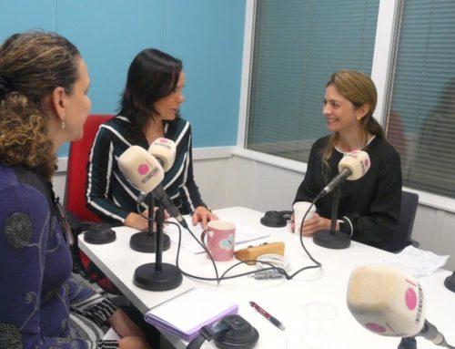 Laura Gómez Guío hablando sobre la Manipulación Visceral en el programa Vidarmónica con Mónica Fraile en Radio Inter